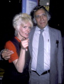 Actress/Singer Joey Heatherton and attorney William Kunstler on September 18 1986 sighting at the Gingerbread Toy Store in New York City