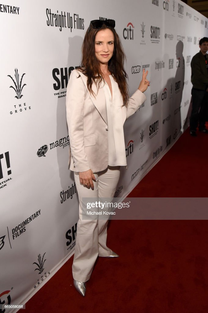 Actress/singer Juliette Lewis attends the screening for 'SHOT! The Psycho Spiritual Mantra of Rock' at The Grove presented by CITI on April 5, 2017 in Los Angeles, California.