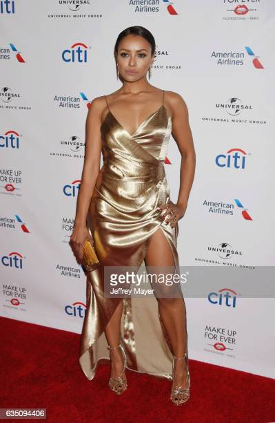 Actresssinger Kat Graham arrives at the Universal Music Group's 2017 GRAMMY After Party at The Theatre at Ace Hotel on February 12 2017 in Los...