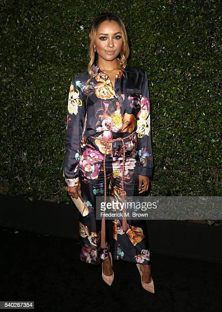 Actress/singer Kat Graham attends Max Mara Celebrates Natalie Dormer The 2016 Women in Film Max Mara Face of the Future at Chateau Marmont on June 14...