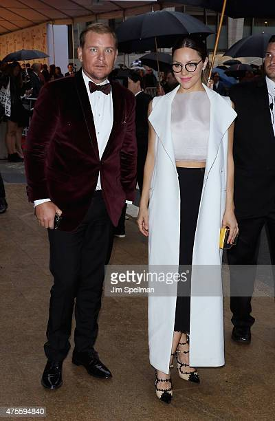 Actress/singer Katharine McPhee attends the 2015 CFDA Fashion Awards at Alice Tully Hall at Lincoln Center on June 1 2015 in New York City