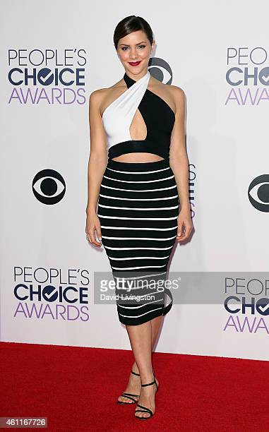 Actress/singer Katharine McPhee attends the 2015 People's Choice Awards at the Nokia Theatre LA Live on January 7 2015 in Los Angeles California