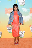 Actress/singer Keke Palmer attends Nickelodeon's 2016 Kids' Choice Awards at The Forum on March 12 2016 in Inglewood California