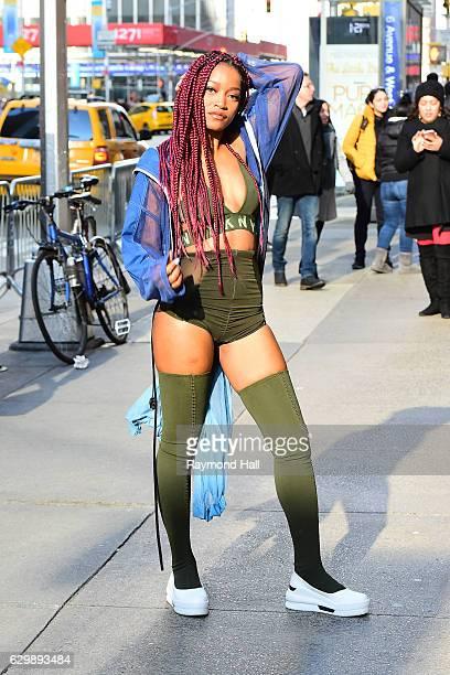 Actress/Singer Keke Palmer is seen in Midtown on December 14 2016 in New York City