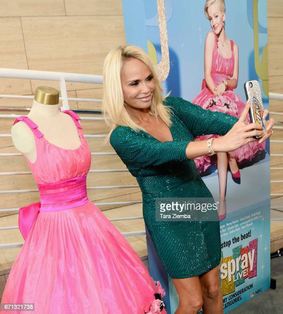 Actress/singer Kristin Chenoweth attends the special preview of 'You Can't Stop The Beat The Art and Artistry of Hairspray Live' at The Paley Center...