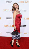 Actress/singer Laura Michelle Kelly attends the 'Spotlight' New York premiere at Ziegfeld Theater on October 27 2015 in New York City