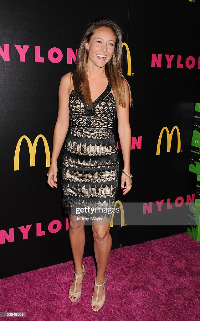 Actress/singer <a gi-track='captionPersonalityLinkClicked' href=/galleries/search?phrase=Lauren+C.+Mayhew&family=editorial&specificpeople=221396 ng-click='$event.stopPropagation()'>Lauren C. Mayhew</a> attends NYLON + McDonald's Dec/Jan issue launch party, hosted by cover star Demi Lovato at Quixote Studios on December 5, 2013 in West Hollywood, California.