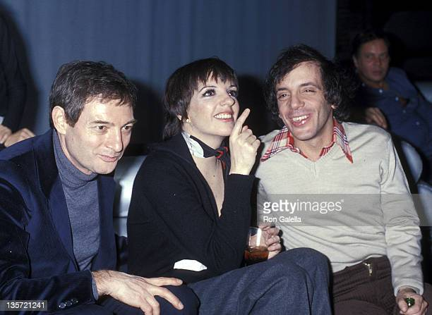 Actress/Singer Liza Minnelli and club owner Steve Rubell on January 10 1978 party at Studio 54 in New York City