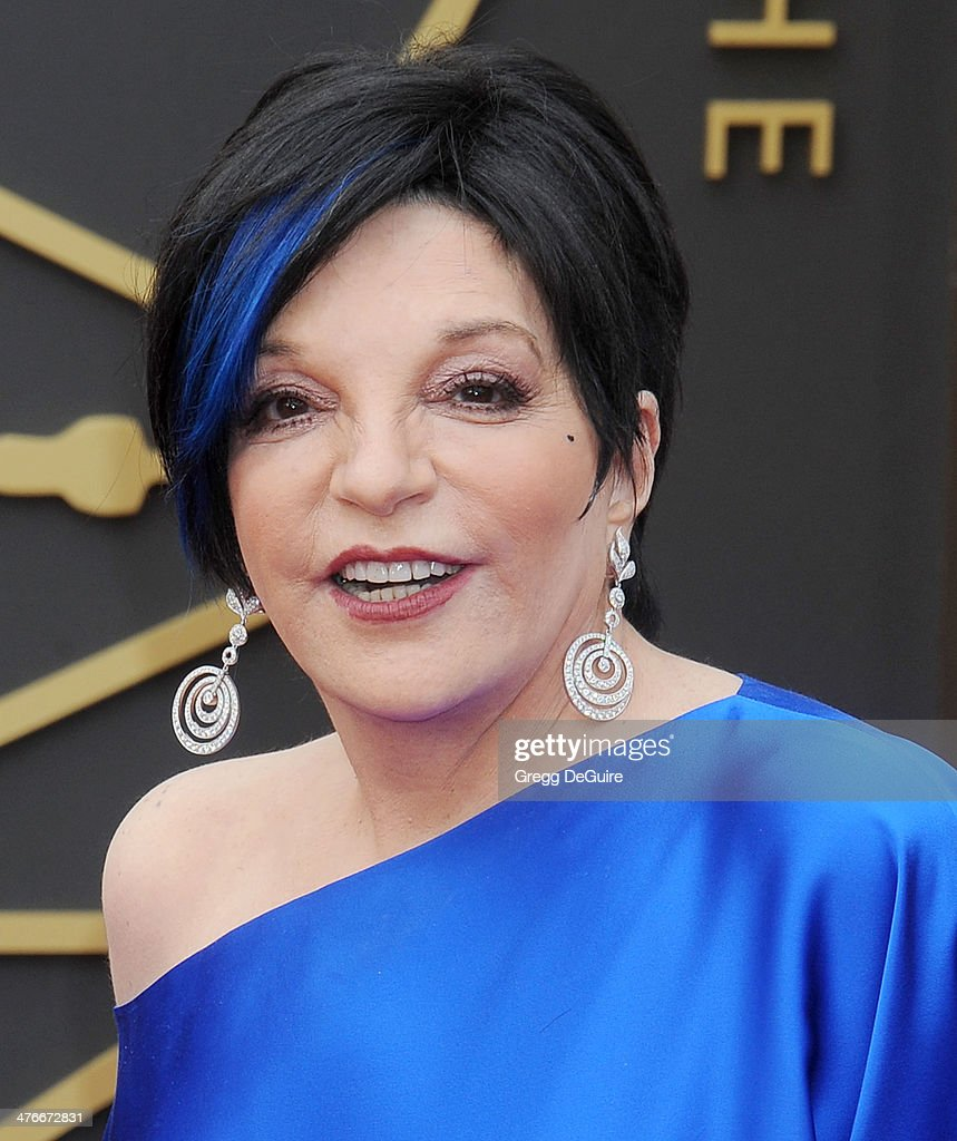 Actress/singer Liza Minnelli arrives at the 86th Annual Academy Awards at Hollywood Highland Center on March 2 2014 in Hollywood California