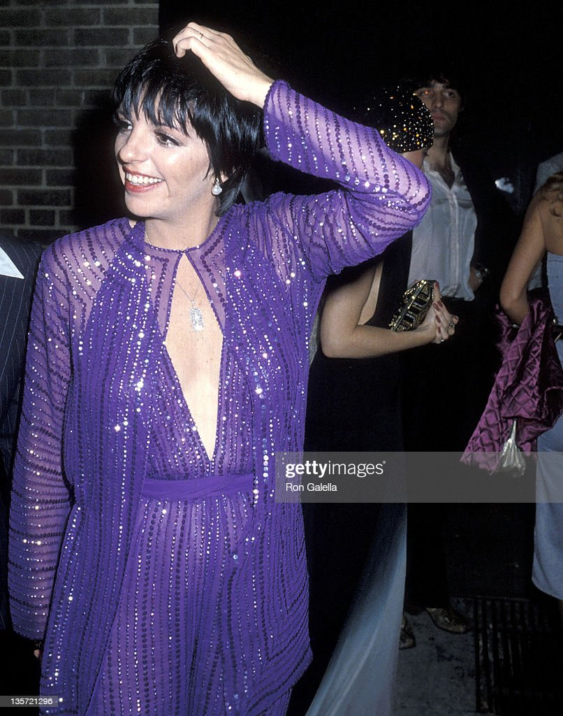 Actress/Singer Liza Minnelli attends Martha Graham Honors Halston on May 21 1979 at Studio 54 in New York City