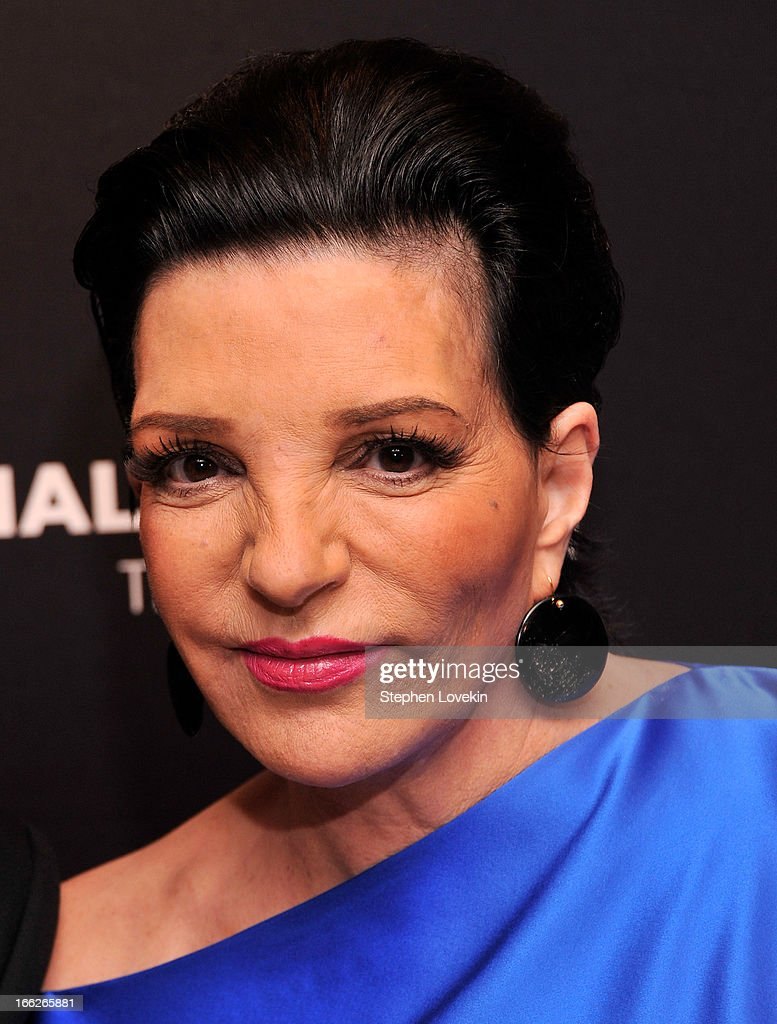 Actress/singer <a gi-track='captionPersonalityLinkClicked' href=/galleries/search?phrase=Liza+Minnelli&family=editorial&specificpeople=121547 ng-click='$event.stopPropagation()'>Liza Minnelli</a> attends The Hollywood Reporters 35 Most Powerful People In Media at Four Seasons Grill Room on April 10, 2013 in New York City.