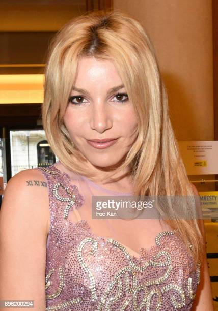 Actress/singer Lola Marois Bigard attends Amnesty International 'Musique Contre L'Oubli' Gala Ceremony at Theatre des Champs Elysees on June14 2017...
