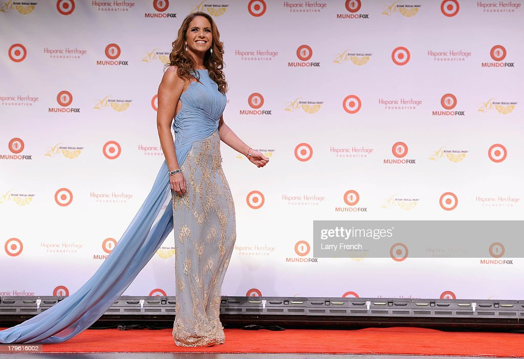 Actress/singer Lucero attends the 26th Annual Hispanic Heritage Awards presented by Target at the John F. Kennedy Center for the Performing Arts on September 5, 2013 in Washington, DC.
