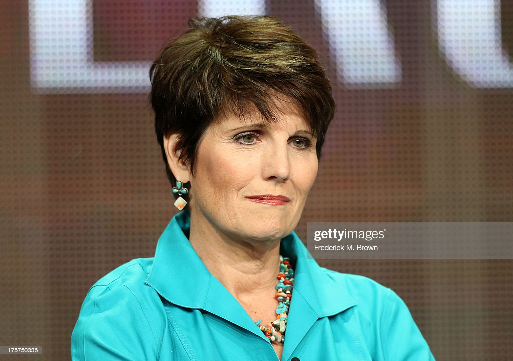 Actress/singer <a gi-track='captionPersonalityLinkClicked' href=/galleries/search?phrase=Lucie+Arnaz&family=editorial&specificpeople=211352 ng-click='$event.stopPropagation()'>Lucie Arnaz</a> speaks onstage during the 'Marvin Hamlisch: The Way He Was' panel discussion at the PBS portion of the 2013 Summer Television Critics Association tour at the Beverly Hilton Hotel on August 7, 2013 in Beverly Hills, California.