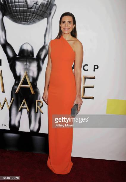 Actresssinger Mandy Moore arrives at the 48th NAACP Image Awards at Pasadena Civic Auditorium on February 11 2017 in Pasadena California