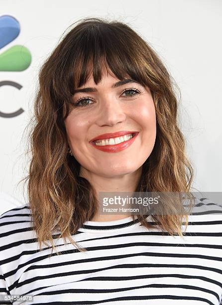 Actress/singer Mandy Moore arrives at The Red Nose Day Special on NBC at Alfred Hitchcock Theater at Universal Studios on May 26 2016 in Universal...