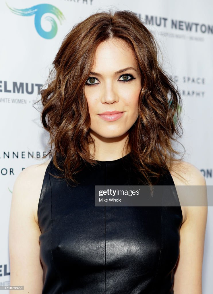 Actress/singer <a gi-track='captionPersonalityLinkClicked' href=/galleries/search?phrase=Mandy+Moore+-+Singer+and+Actress&family=editorial&specificpeople=171637 ng-click='$event.stopPropagation()'>Mandy Moore</a> attends the Helmut Newton opening night exhibit at Annenberg Space For Photography on June 27, 2013 in Century City, California.