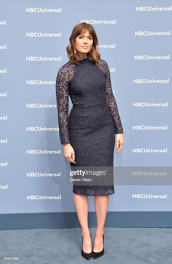 Actress/singer Mandy Moore attends the NBCUniversal 2016 Upfront Presentation on May 16, 2016 in New York, New York.