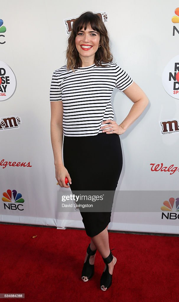 Actress/singer Mandy Moore attends the Red Nose Day Special on NBC at the Alfred Hitchcock Theater at Alfred Hitchcock Theater at Universal Studios on May 26, 2016 in Universal City, California.