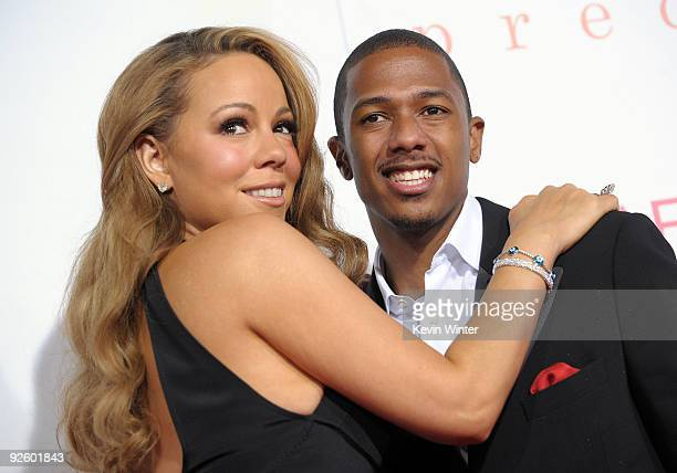 Actress/singer Mariah Carey and actor Nick Cannon arrive at the screening of 'Precious Based On The Novel 'PUSH' By Sapphire' during AFI FEST 2009...