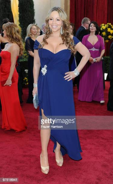 Actress/Singer Mariah Carey arrives at the 82nd Annual Academy Awards held at Kodak Theatre on March 7 2010 in Hollywood California