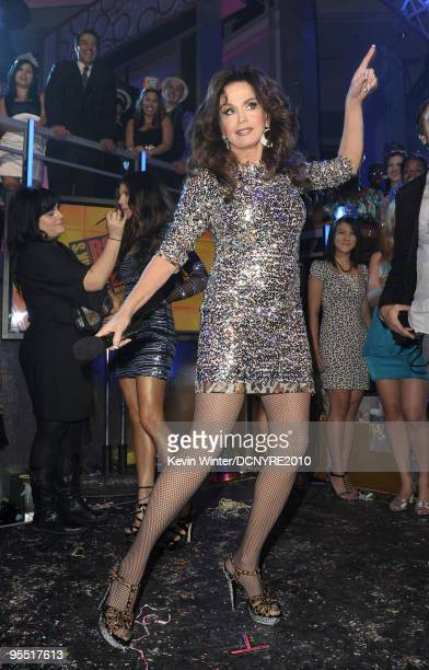 Actress/singer Marie Osmond attends Dick Clark's New Year's Rockin' Eve With Ryan Seacrest 2010 at Aria Resort Casino at the City Center on December...