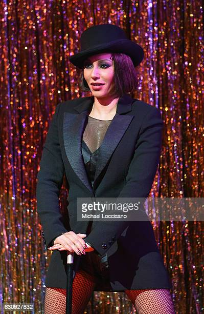 Actress/Singer Mel B joins the cast of Broadway's 'Chicago' at Ambassador Theatre on January 3 2017 in New York City She made her debut in the show...