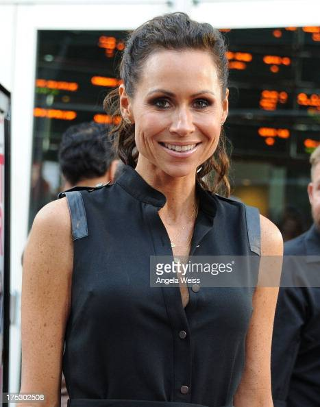 Actress/singer Minnie Driver arrives at the Screening of Magnolia Pictures' 'I Give It A Year' at ArcLight Hollywood on August 1 2013 in Hollywood...