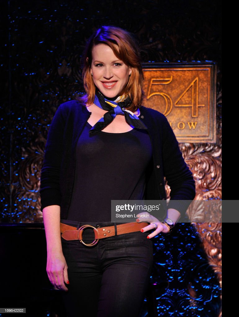 Actress/singer Molly Ringwald attends a special press preview at 54 Below on January 15, 2013 in New York City.
