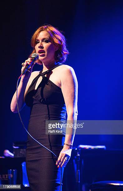 Actress/singer Molly Ringwald performs on day nine during the 2013 Festival International de Jazz de Montreal on July 6 2013 in Montreal Canada