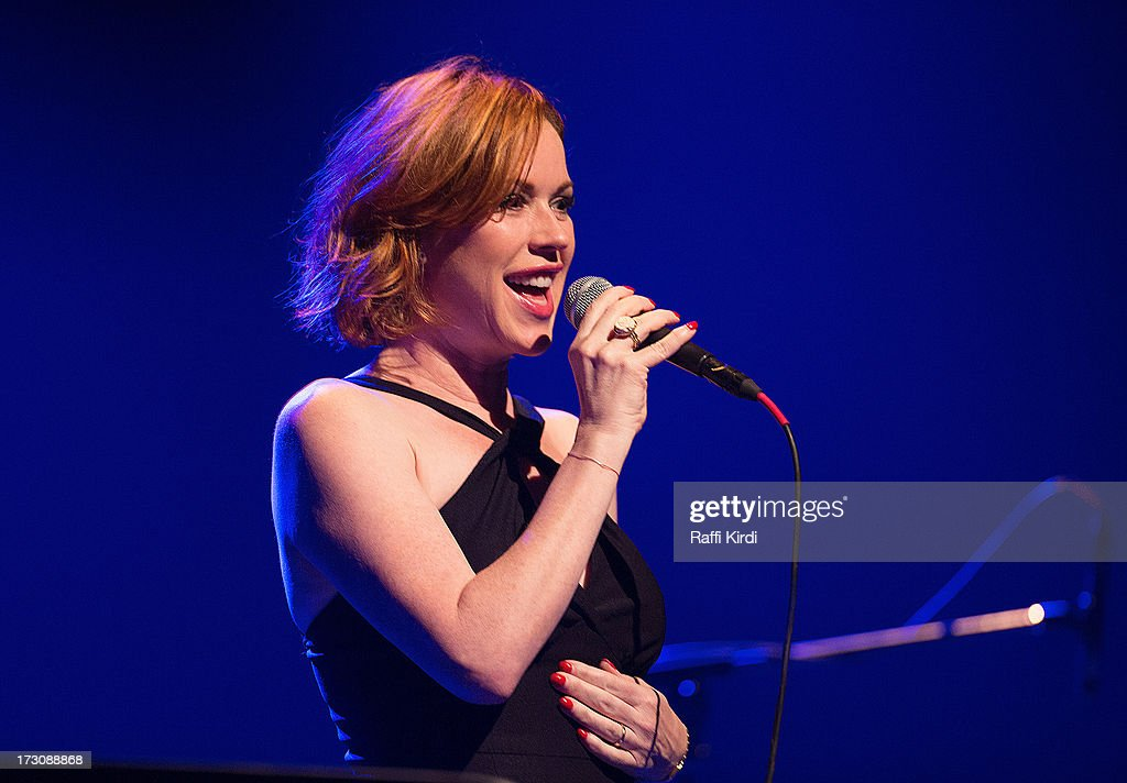 Actress/singer <a gi-track='captionPersonalityLinkClicked' href=/galleries/search?phrase=Molly+Ringwald&family=editorial&specificpeople=206508 ng-click='$event.stopPropagation()'>Molly Ringwald</a> performs on day nine during the 2013 Festival International de Jazz de Montreal on July 6, 2013 in Montreal, Canada.