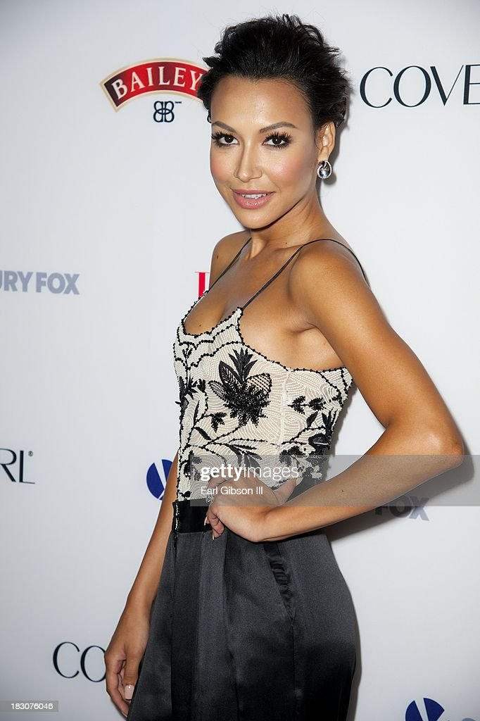 Actress/singer <a gi-track='captionPersonalityLinkClicked' href=/galleries/search?phrase=Naya+Rivera&family=editorial&specificpeople=5745696 ng-click='$event.stopPropagation()'>Naya Rivera</a> attends the Latina Magazine 'Hollywood Hot List' Party at The Redbury Hotel on October 3, 2013 in Hollywood, California.