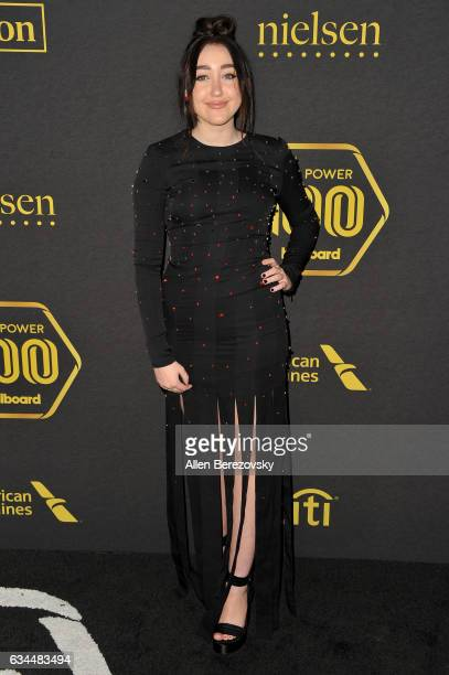 Actress/singer Noah Cyrus attends 2017 Billboard Power 100 at Cecconi's on February 9 2017 in West Hollywood California
