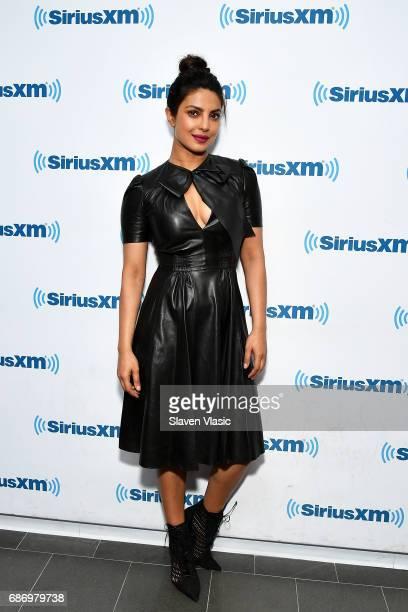 Actress/singer Priyanka Chopra visits SiriusXM Studios on May 22 2017 in New York City
