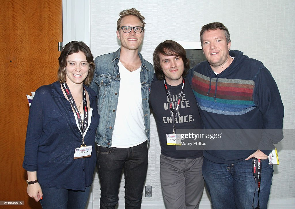 Actress/singer Rachel Bloom, composer Adam Schlesinger, ASCAP Director, Marketing & Communications Etan Rosenbloom and ASCAP Director, Film & TV, Membership Jeff Jernigan attend the 2016 ASCAP 'I Create Music' EXPO on April 30, 2016 in Los Angeles, California.