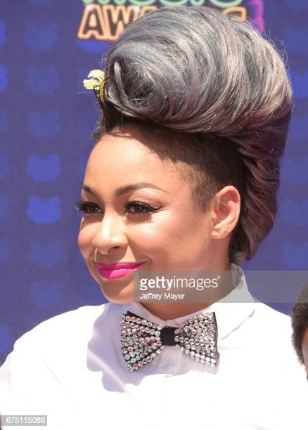 Actresssinger RavenSymoné attends the 2017 Radio Disney Music Awards at Microsoft Theater on April 29 2017 in Los Angeles California