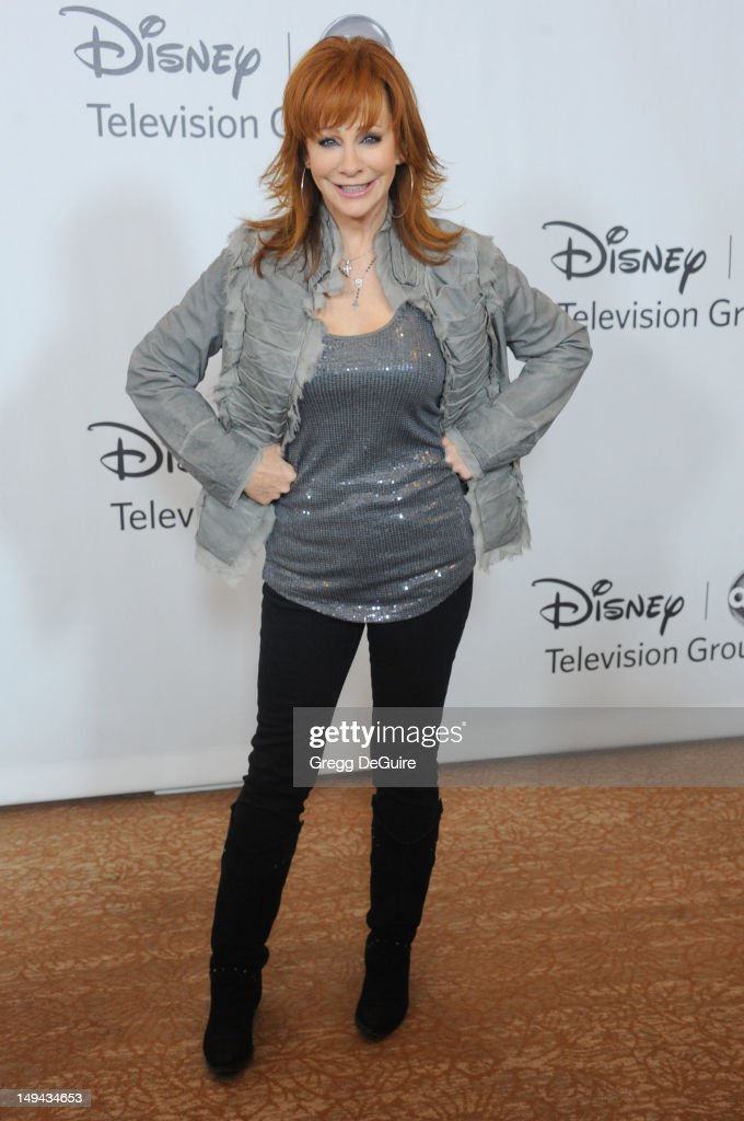 Actress/singer Reba McEntire arrives at the 2012 Disney ABC Television TCA summer press tour party at The Beverly Hilton Hotel on July 27, 2012 in Beverly Hills, California.
