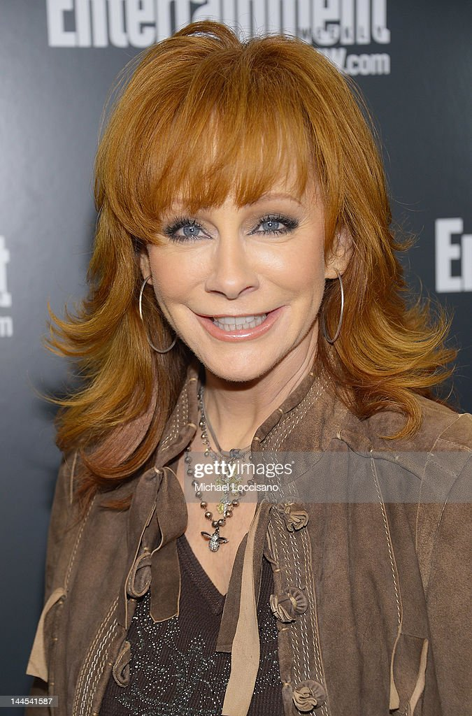 Actress/Singer <a gi-track='captionPersonalityLinkClicked' href=/galleries/search?phrase=Reba+McEntire&family=editorial&specificpeople=202959 ng-click='$event.stopPropagation()'>Reba McEntire</a> attends the Entertainment Weekly & ABC-TV Up Front VIP Party at Dream Downtown on May 15, 2012 in New York City.