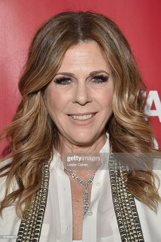 Actress/singer Rita Wilson attends the 2016 MusiCares Person of the Year honoring Lionel Richie at the Los Angeles Convention Center on February 13, 2016 in Los Angeles, California.
