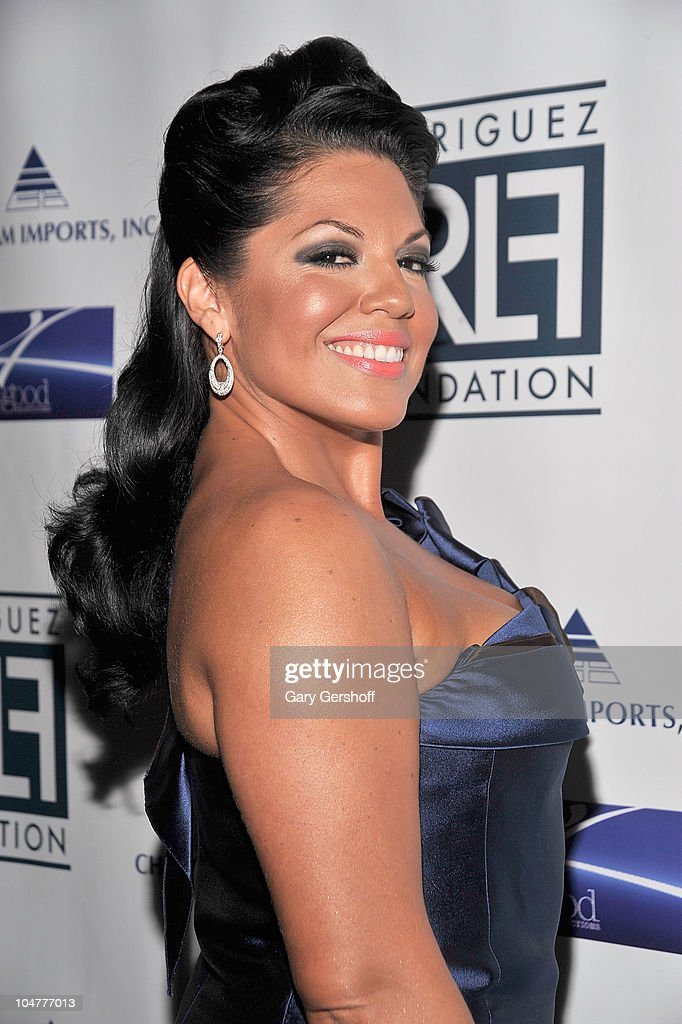 Actress/singer Sara Ramirez attends the 2010 Broadway Takes the Runway Benefit at Touch Night Club on October 4 2010 in New York City