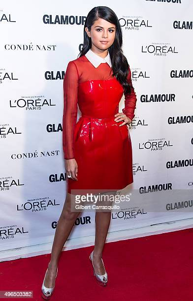 Actress/singer Selena Gomez attends Glamour's 25th Anniversary Women Of The Year Awards at Carnegie Hall on November 9 2015 in New York City