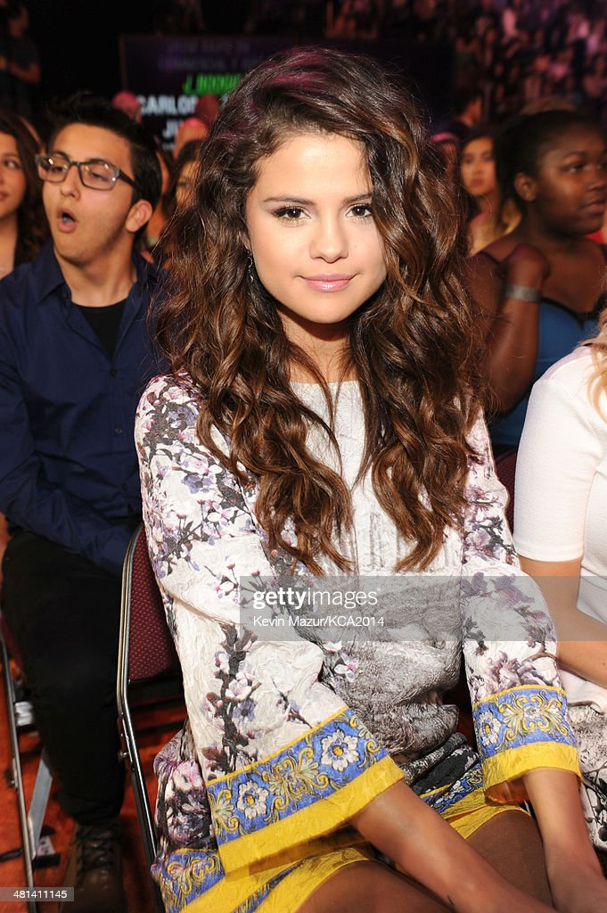 Actress/singer Selena Gomez attends Nickelodeon's 27th Annual Kids' Choice Awards held at USC Galen Center on March 29, 2014 in Los Angeles, California.