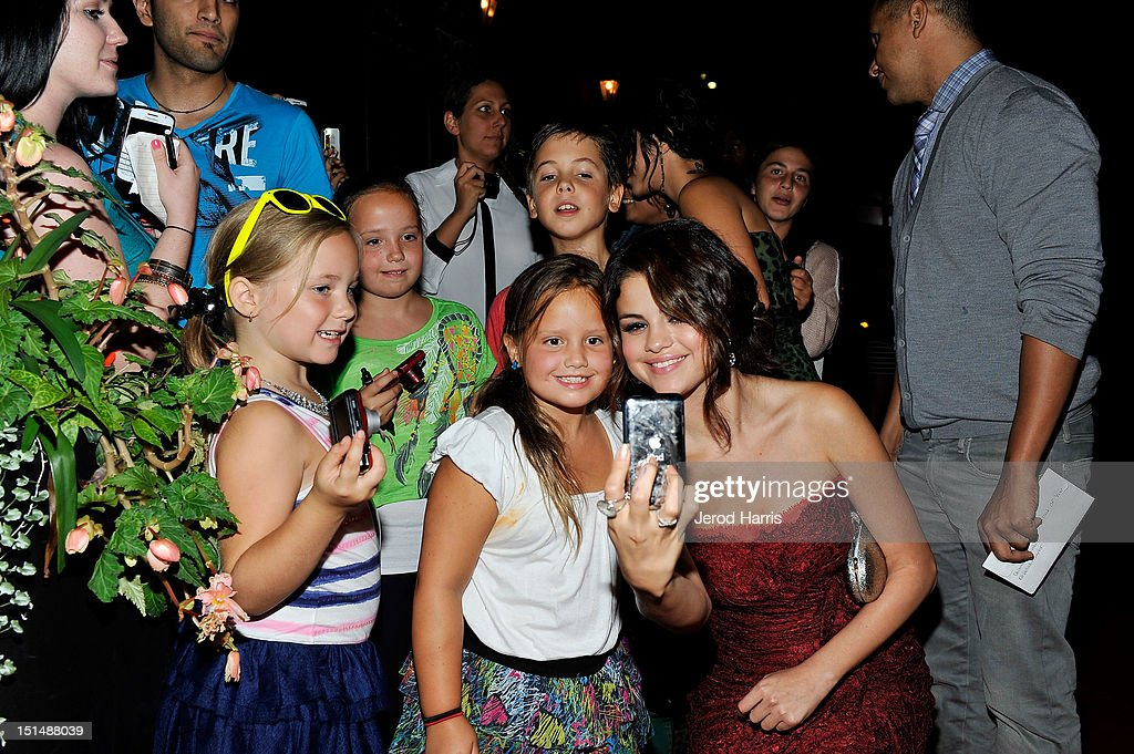 Actress/singer Selena Gomez attends the vitaminwater post party for the cast of 'Spring Breakers' during the 2012 Toronto International Film Festivalat Brassaii on September 7, 2012 in Toronto, Canada.