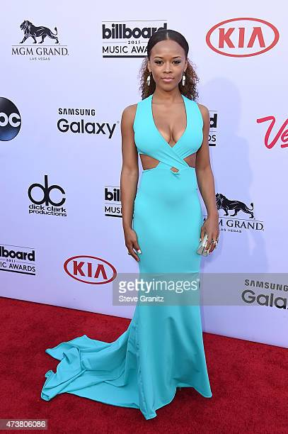 Actress/singer Serayah attends the 2015 Billboard Music Awards at MGM Grand Garden Arena on May 17 2015 in Las Vegas Nevada