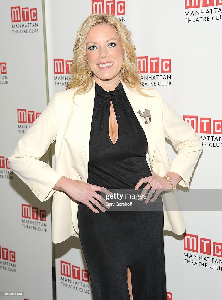 Actress/singer <a gi-track='captionPersonalityLinkClicked' href=/galleries/search?phrase=Sherie+Rene+Scott&family=editorial&specificpeople=214727 ng-click='$event.stopPropagation()'>Sherie Rene Scott</a> attends the 2012 Manhattan Theatre Club Benefit: An Intimate Night at Jazz at Lincoln Center on January 28, 2013 in New York City.
