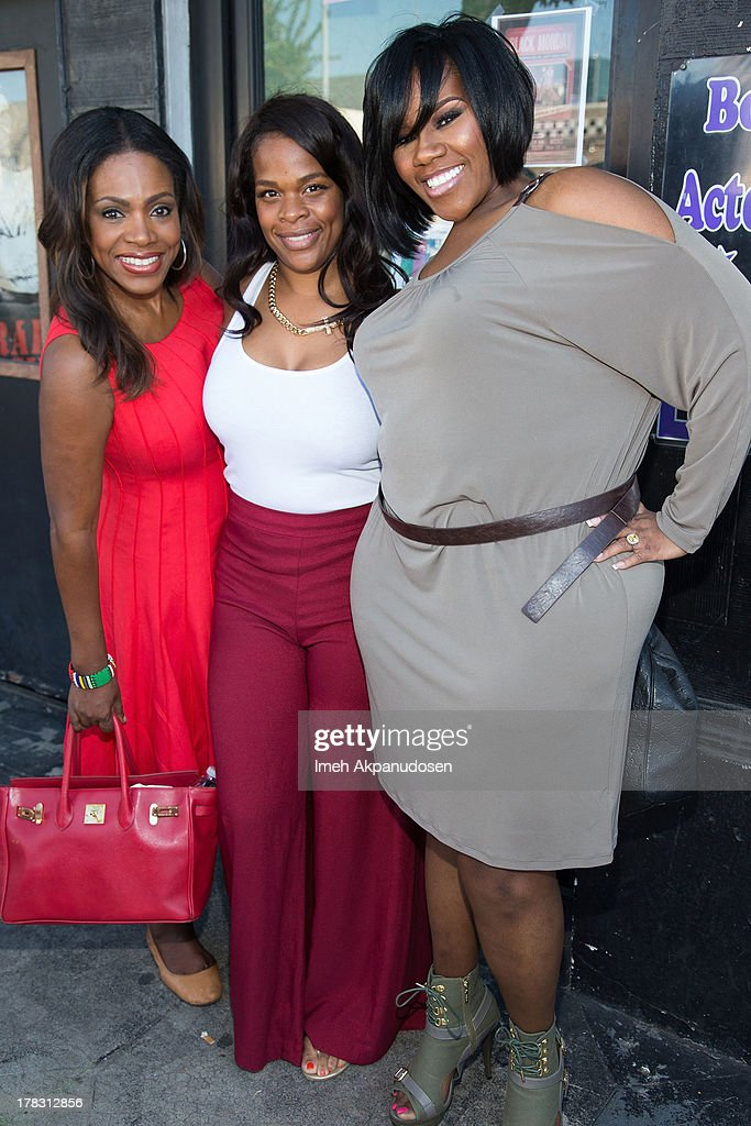 Actress/singer <a gi-track='captionPersonalityLinkClicked' href=/galleries/search?phrase=Sheryl+Lee+Ralph&family=editorial&specificpeople=214083 ng-click='$event.stopPropagation()'>Sheryl Lee Ralph</a>, television perosnality Monique Jackson, and singer Kelly Price attend the live casting auditions for the new reality show 'Too Fat For Fame' at The Complex Hollywood on August 28, 2013 in Los Angeles, California.