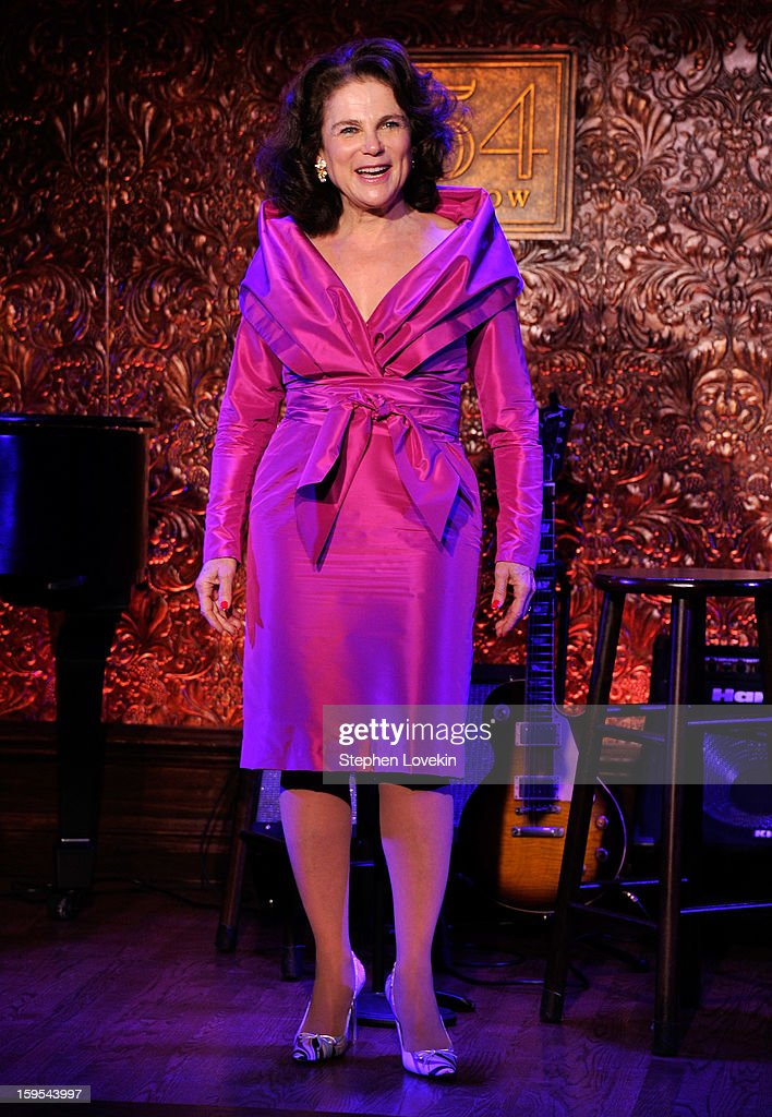 Actress/singer Tovah Feldshuh attends at a special press preview at 54 Below on January 15, 2013 in New York City.