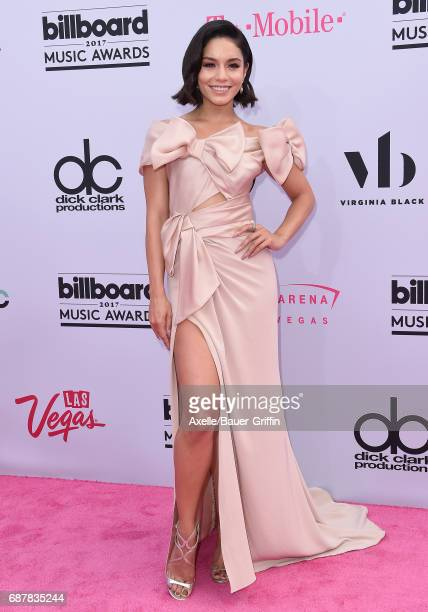 Actress/singer Vanessa Hudgens arrives at the 2017 Billboard Music Awards at TMobile Arena on May 21 2017 in Las Vegas Nevada