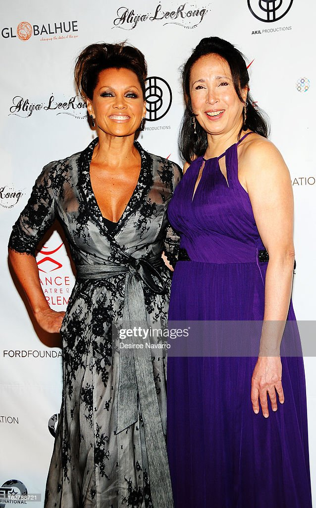Actress/singer Vanessa Williams and Artistic Director of the Dance Theatre of Harlem, Virgina Johnson attend the Dance Theatre Of Harlem 44th Anniversary Celebration at Mandarin Oriental Hotel on February 26, 2013 in New York City.