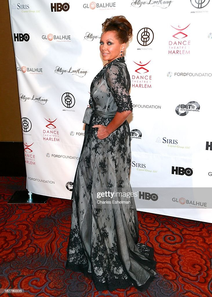 Actress/singer Vanessa Williams arrives at the Dance Theatre Of Harlem 44th Anniversary Celebration at the Mandarin Oriental Hotel on February 26, 2013 in New York City.
